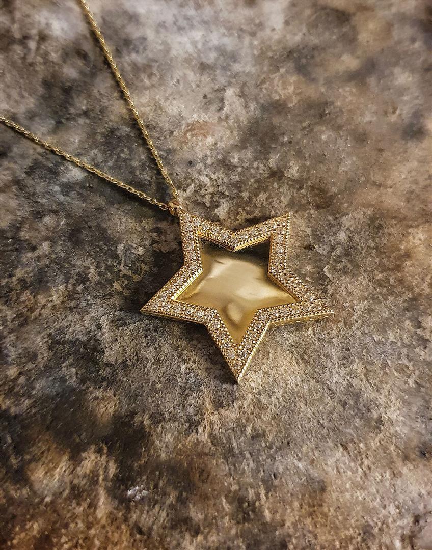 yıldız plaka kolye