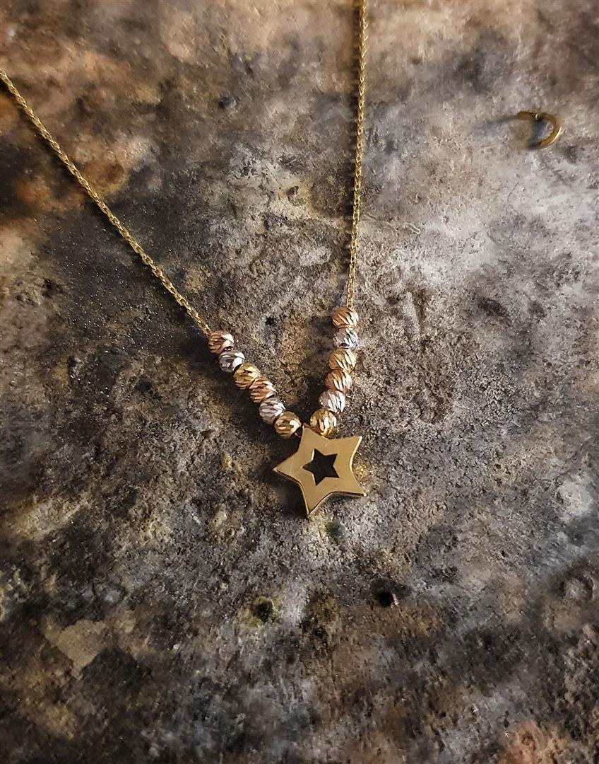 dorica toplu yıldız kolye