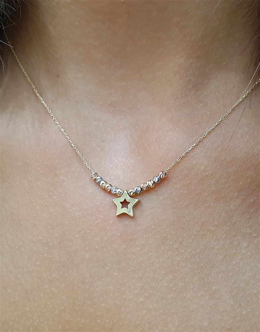 dorica toplu yıldız kolyeler