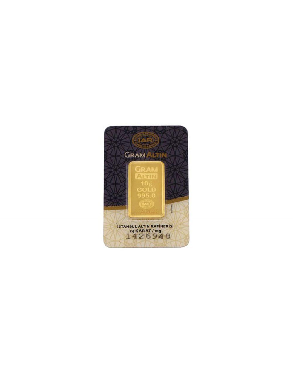 24 ayar 10 gram altın