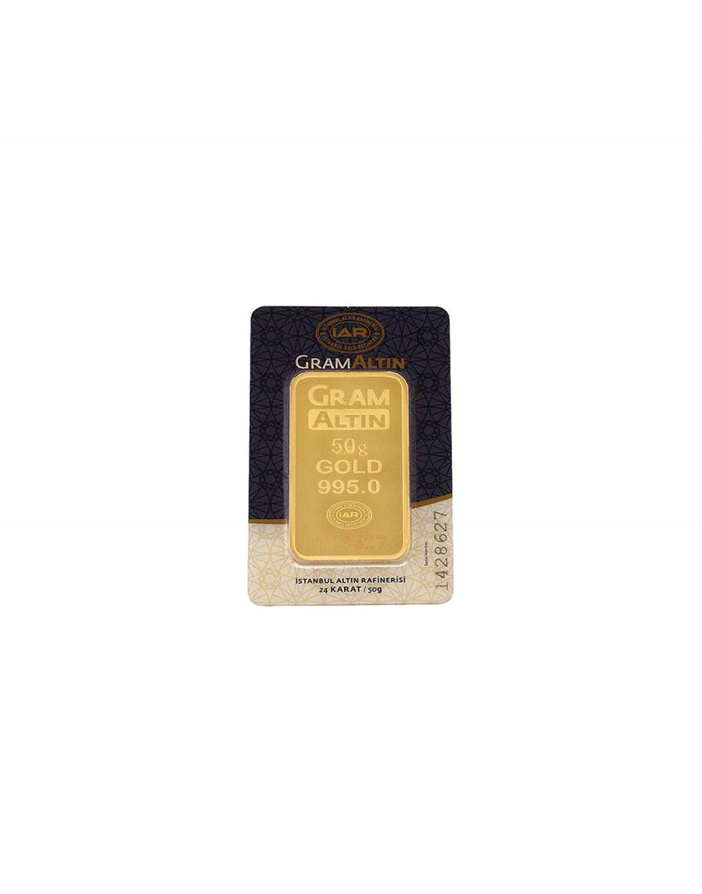 24 ayar 50 gram altın