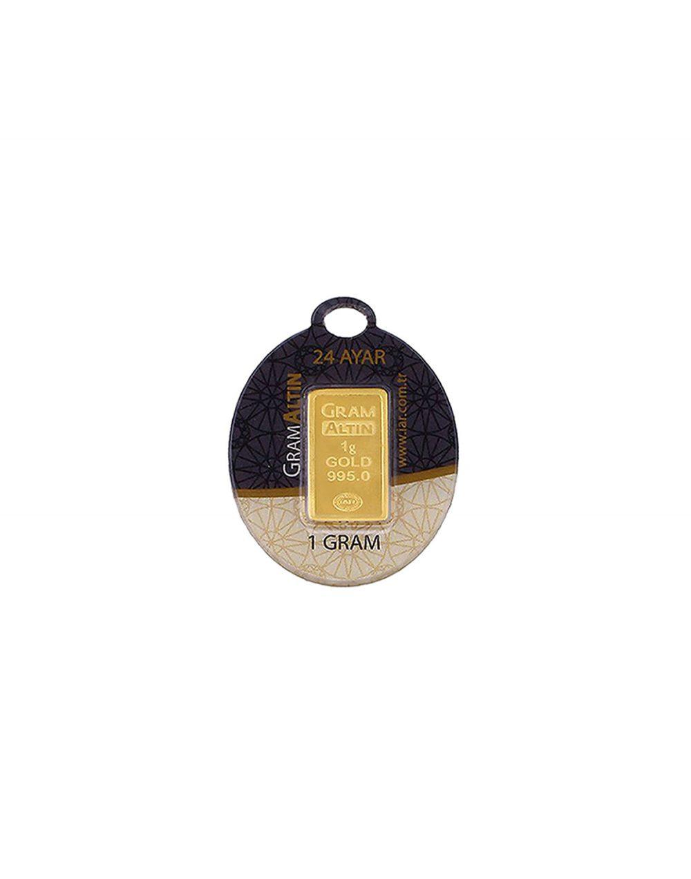 24 ayar gram altın