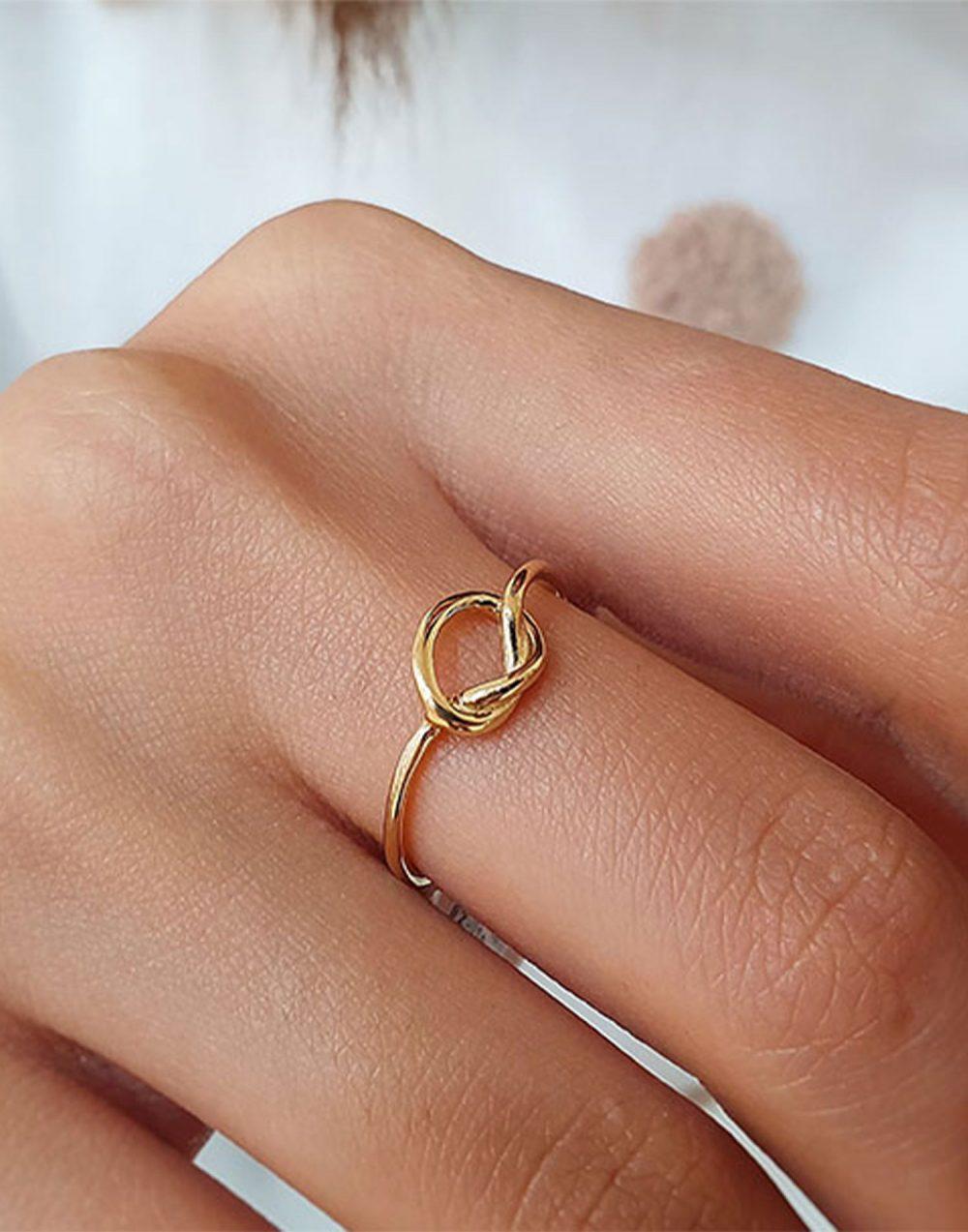 altın düğüm yüzük çeşitleri