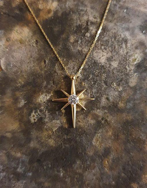 kutup yıldızı kolye